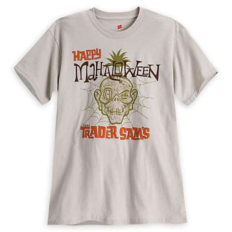 Trader Sam's Mahaloween Products Available from Disney Store