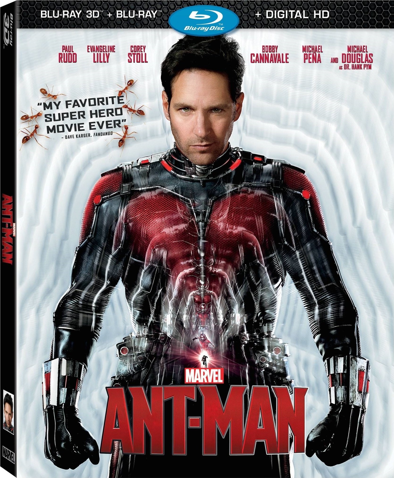 Ant-Man Blu-Ray 2D and 3D Review
