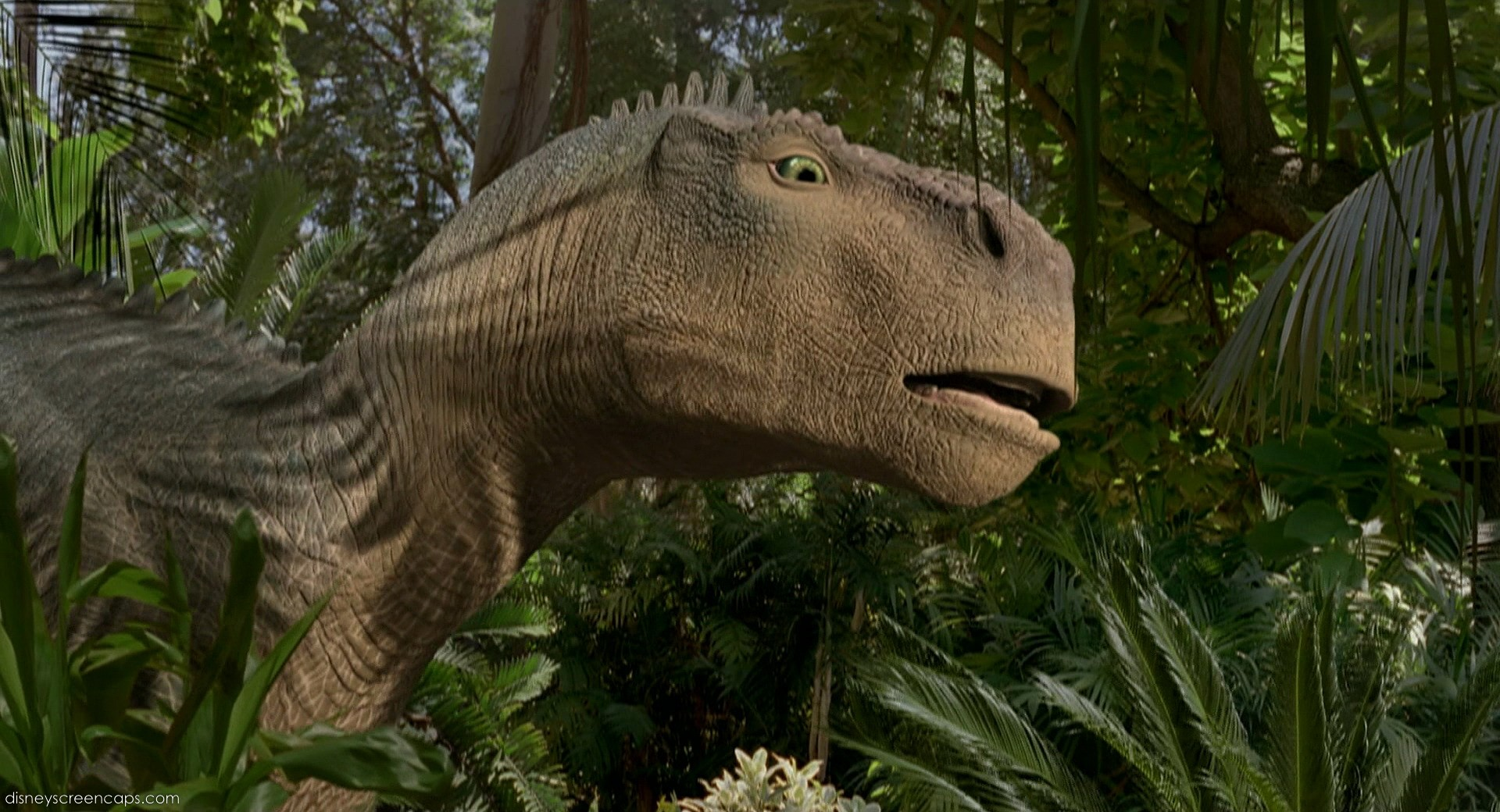 Can you name this dinosaur from Disney's (not Pixar's) first CGI film?