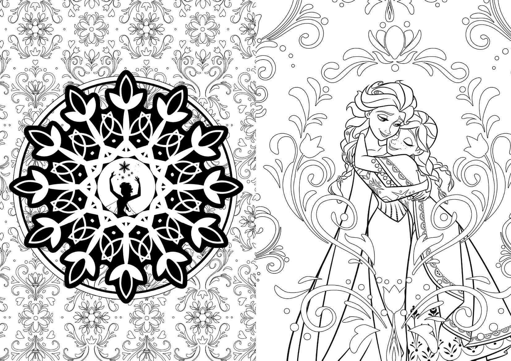 - Disney Offers Coloring Books For Adults