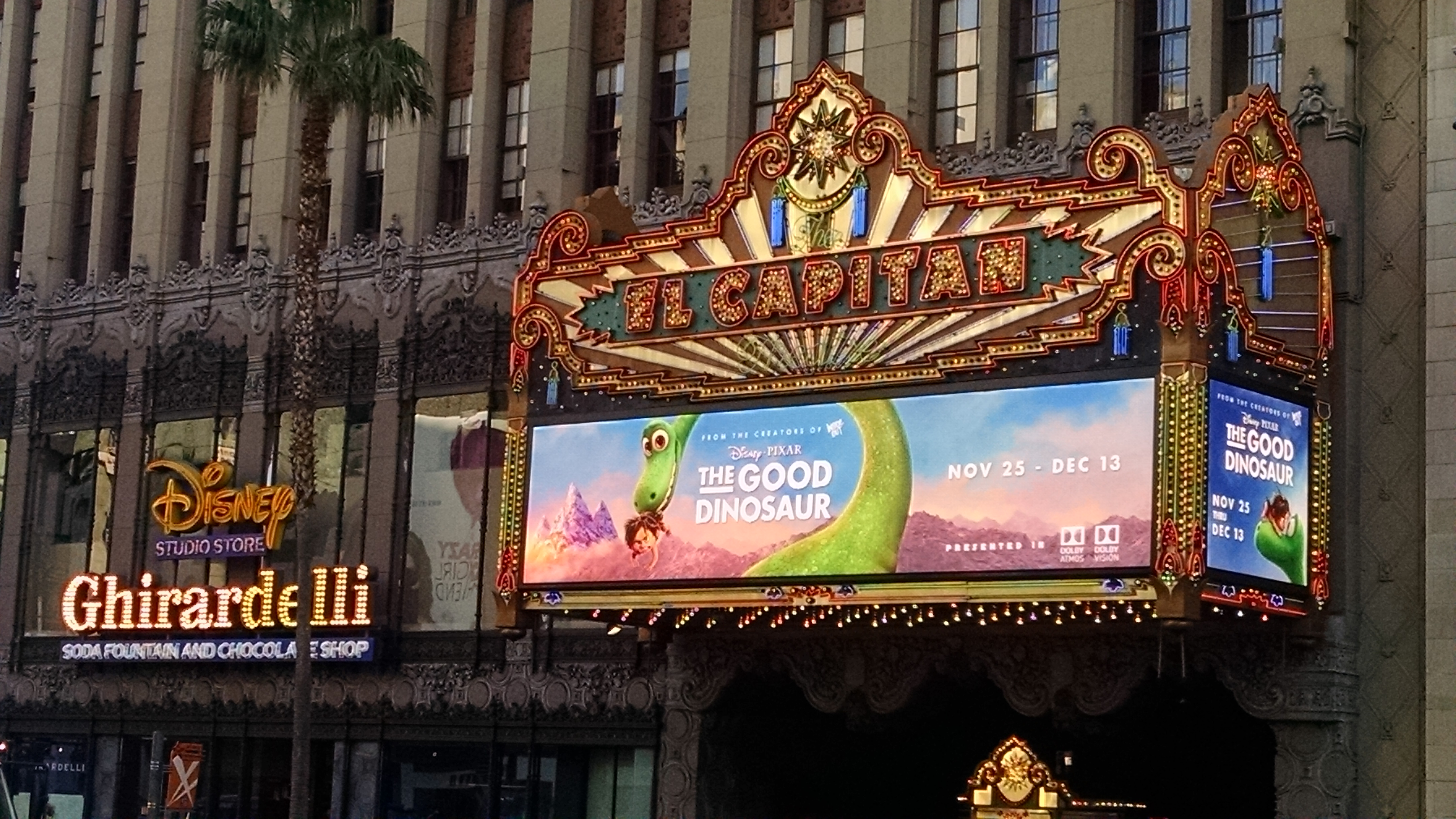 20 Years And Beyond: Toy Story and The Good Dinosaur at The El Capitan Theatre
