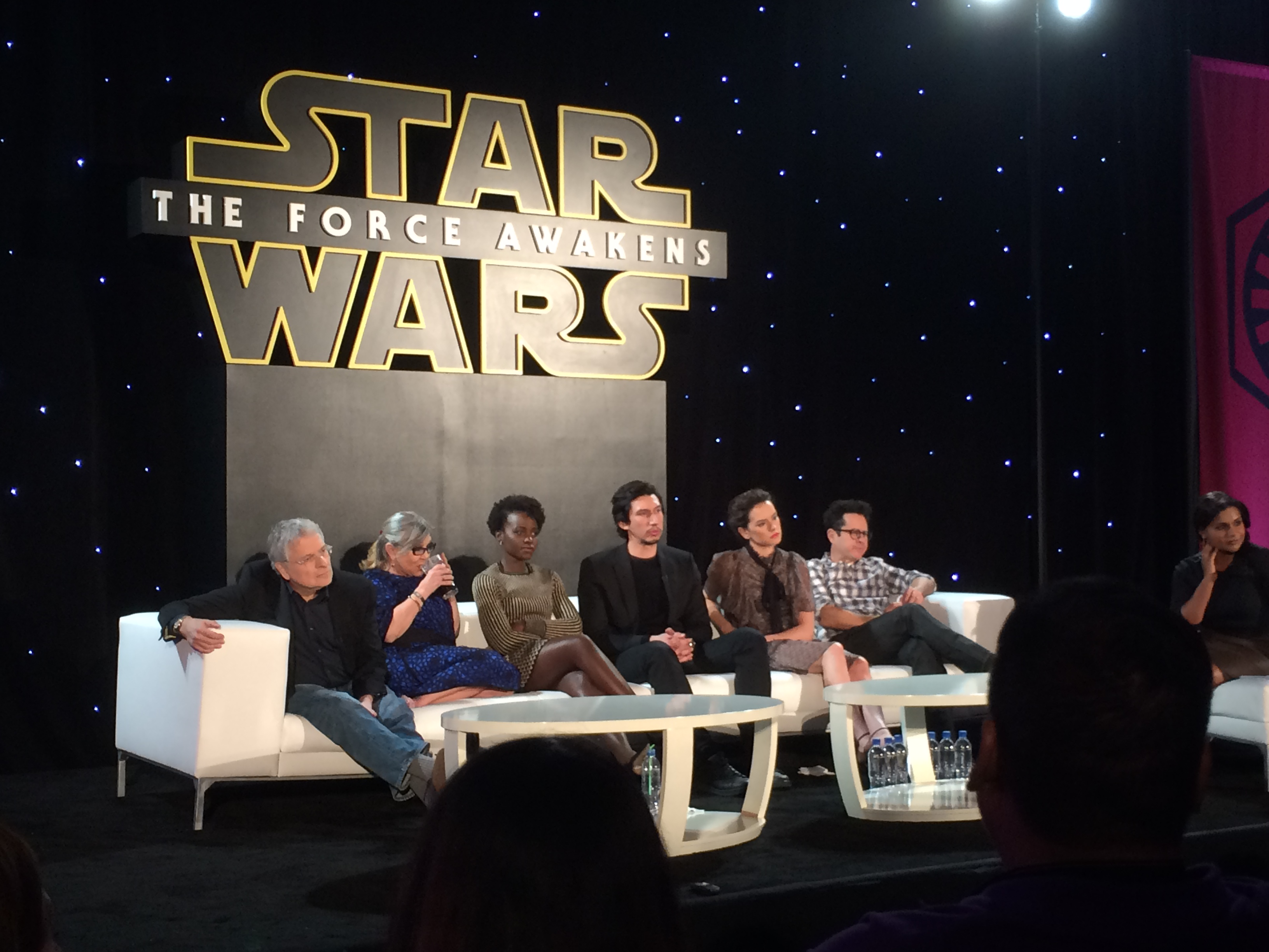Star Wars Cast Spills All... or Not