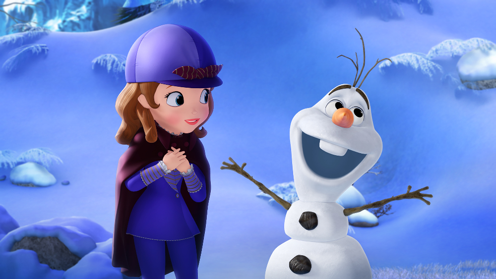 Frozen Comes to Disney Channel; Sofia the First
