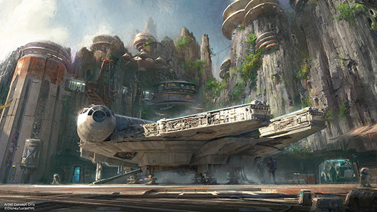 Harrison Ford to Reveal New Star Wars Land Details