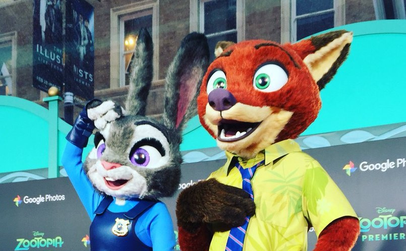 The Five Most Memorable Official Disney Tweets – February 17, 2016 - Zootopia Red Carpet Edition