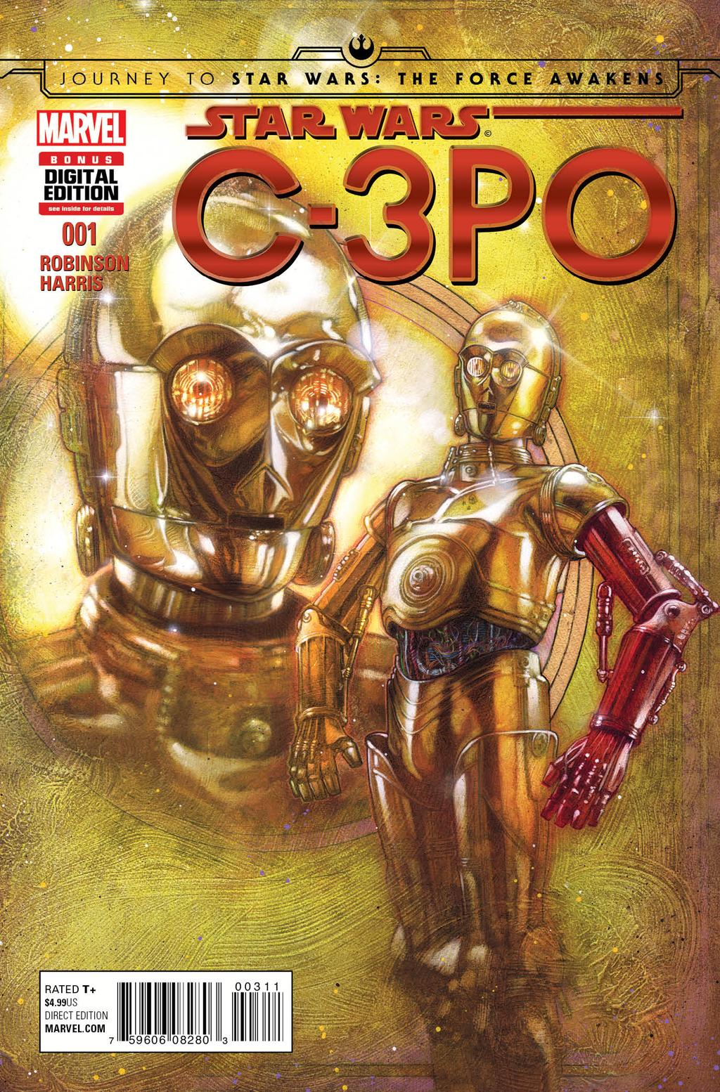 Marvel to Share How C-3PO Got His Red Arm