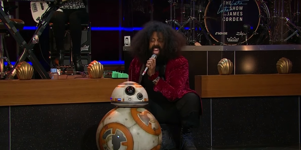 BB-8 Inspires a Funk Jam (Complete with Some Droid Sampling)