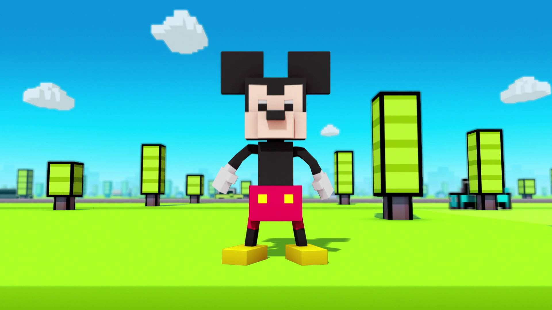 Disney Crossy Road Coming Soon for Mobile Devices