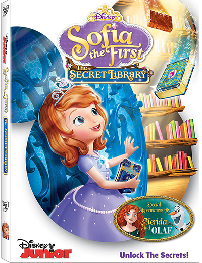 Sofia the First: The Secret Library Comes to DVD