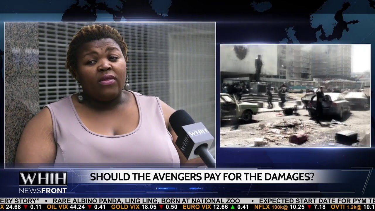 WHIH Asks Who Should Pay for Cleaning Up After Avengers