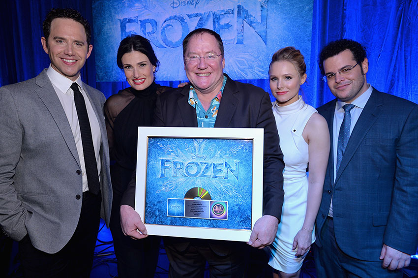 A-Celebration-of-the-Music-of-Frozen-Santino-Fontana-Idina-Menzel-John-Lasseter-Kristen-Bell-Josh-Gad