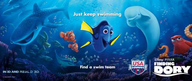 Finding Dory Partners with USA Swiming