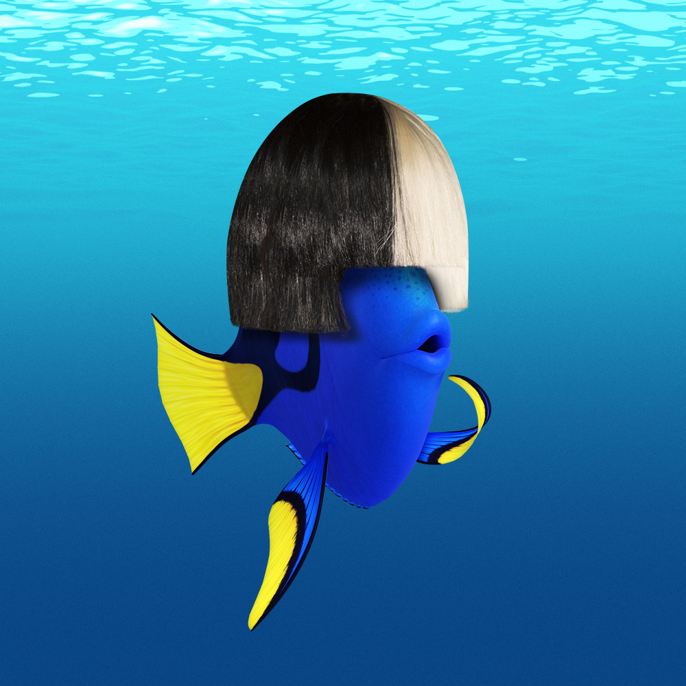 Sia Debuts Finding Dory End Credits Song on Ellen Show