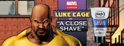 Magic Shave Partners with Marvel's Luke Cage