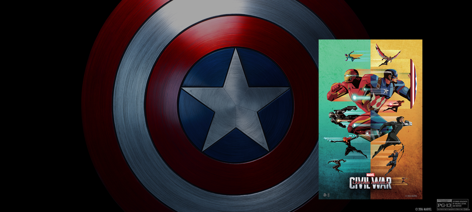 """Disney Movie Rewards Offers Free """"Civil War"""" Poster for Linking Your Fandango Account"""