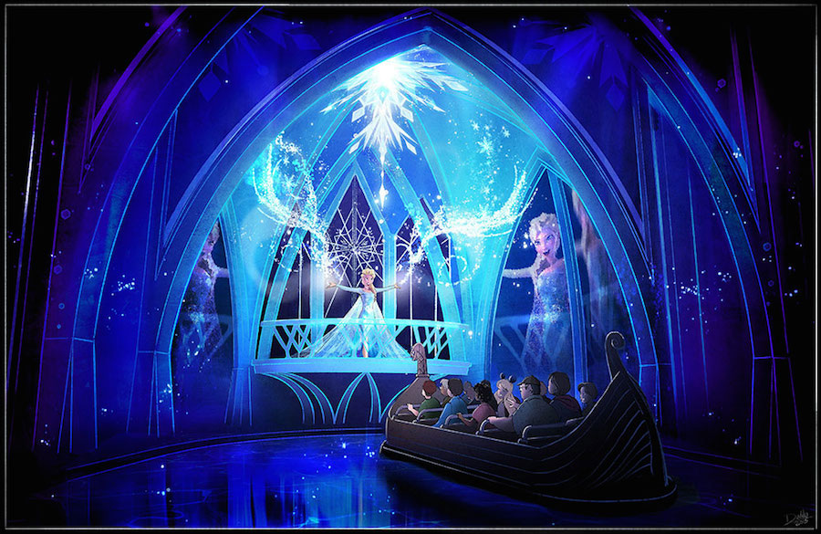 Frozen Attractions at Epcot Announce Opening Date