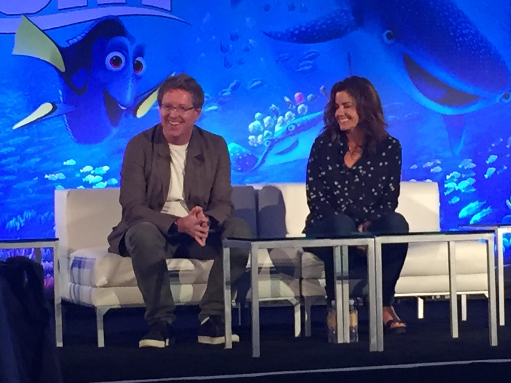 Director Andrew Stanton and Producer Lindsey Collins Talk About Finding Dory