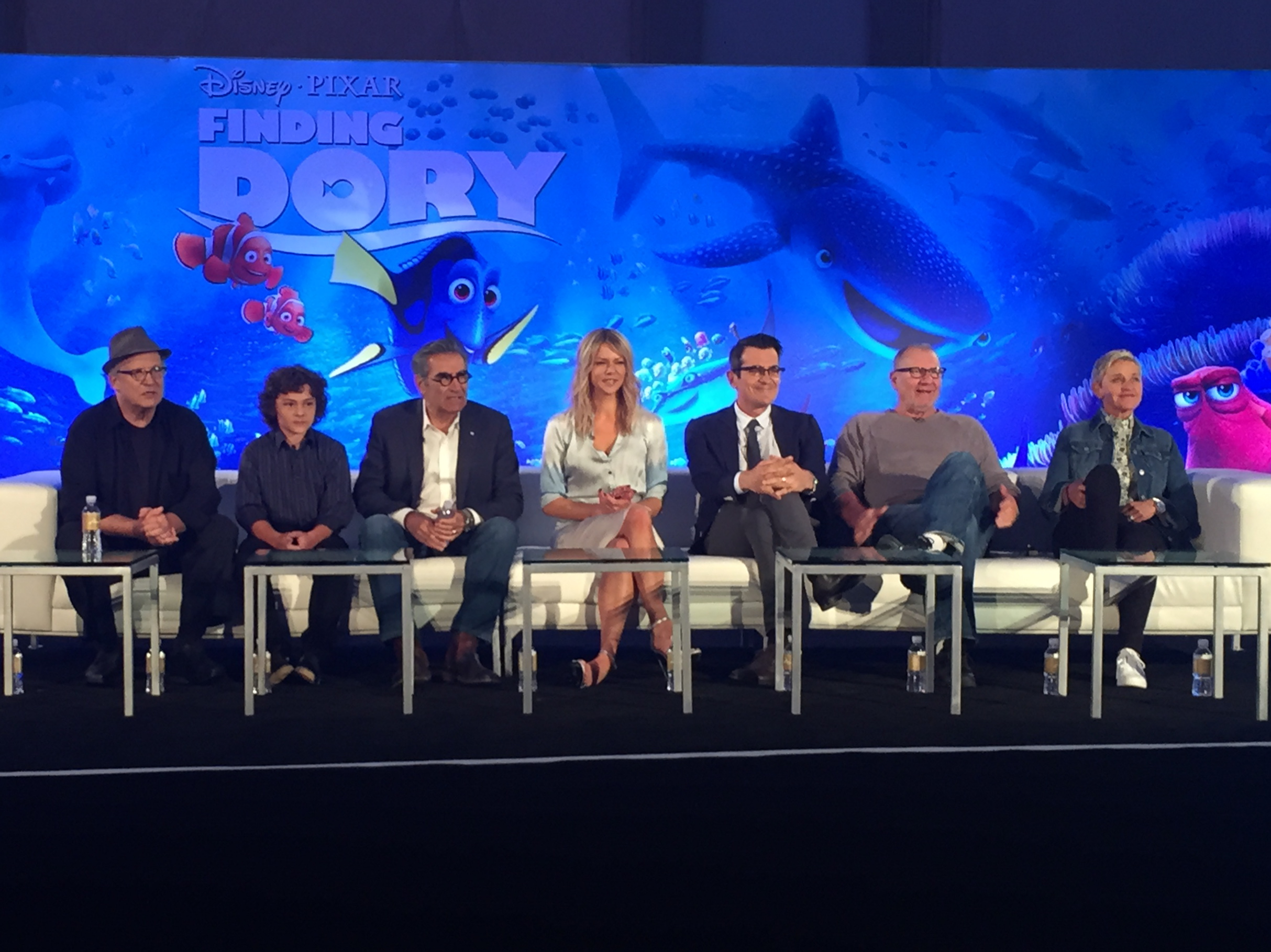 A Talk With the Cast of Finding Dory