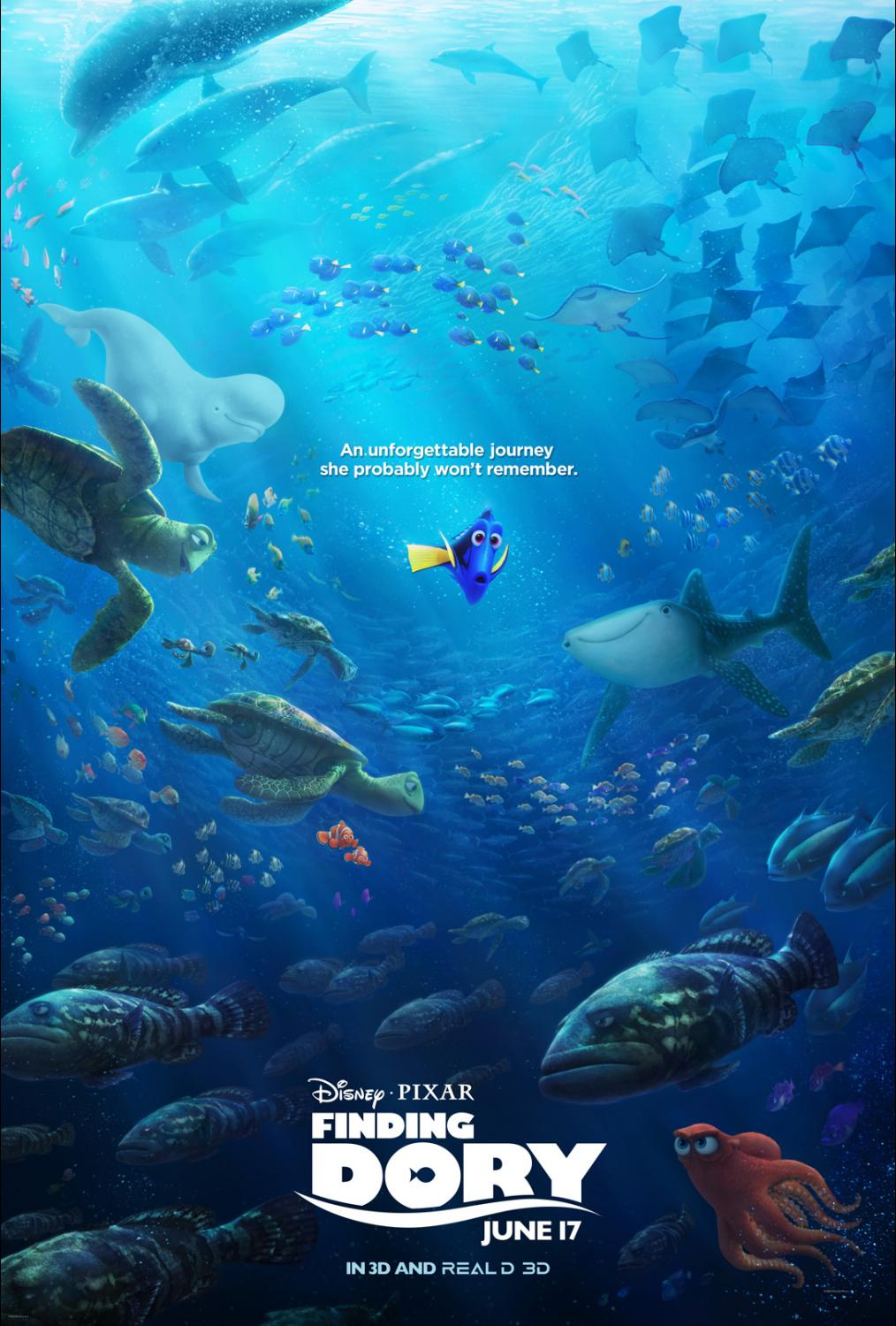 Pixar Returns to Greatness: Finding Dory Review