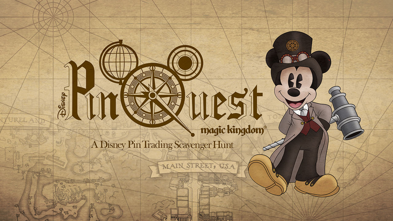 "Magic Kingdom Launches New Pin Trading Scavenger Hunt Called ""PinQuest"""