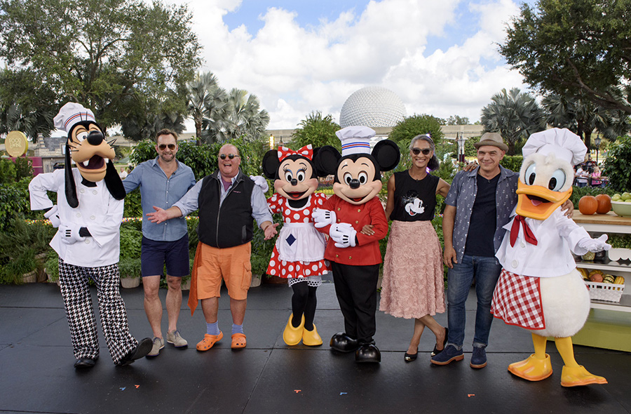 The Chew's Epcot Food and Wine Festival Shows Will Air Next Week