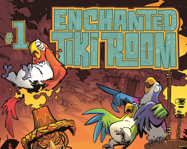 Disney Kingdoms to Release Enchanted Tiki Room Comic Series