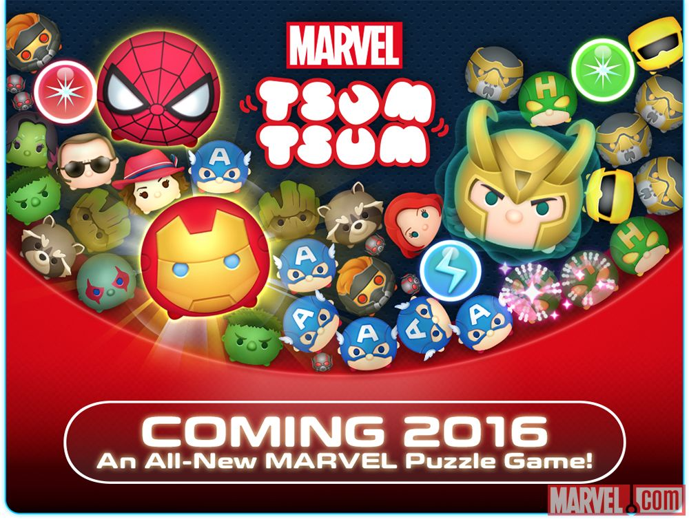 Marvel Tsum Tsum Mobile Game Coming Soon