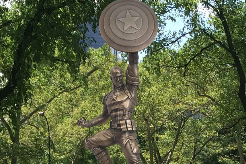 Captain America Statue to Debut at Comic-Con Before Moving to Brooklyn