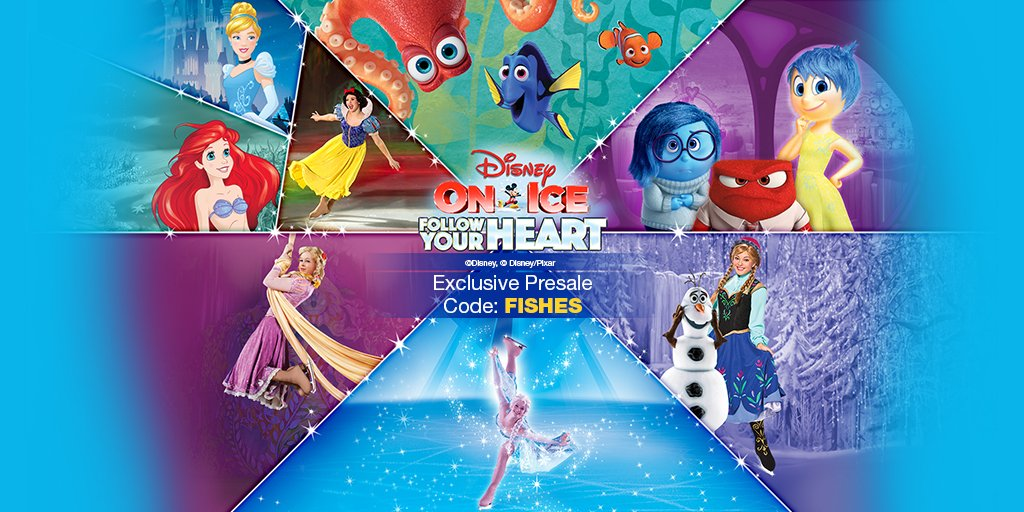 """""""Disney on Ice Presents Follow Your Heart"""" to Feature """"Finding Dory"""""""