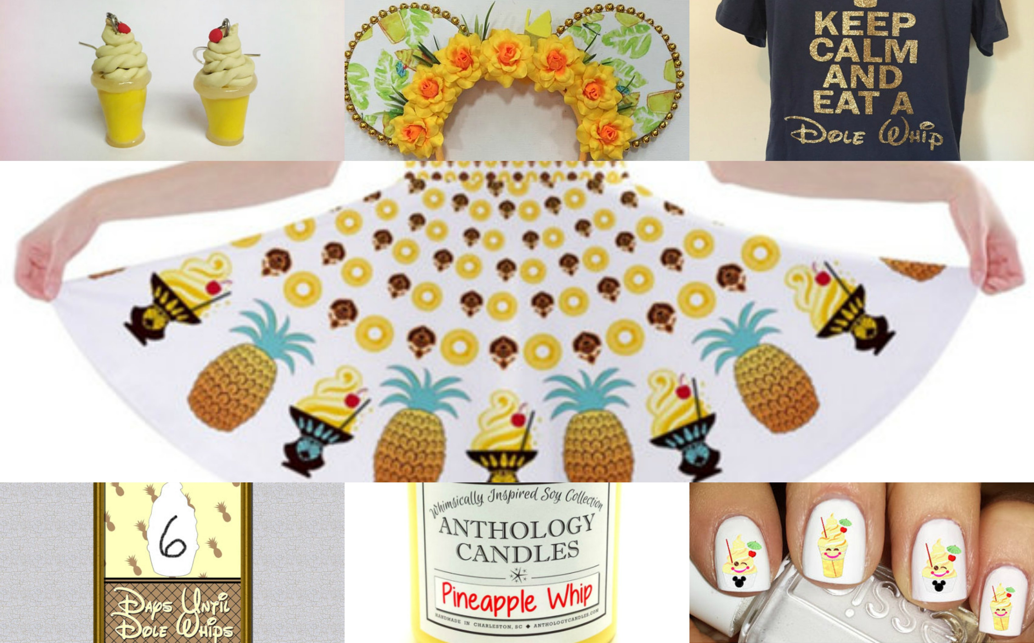 Top 11 Dole Whip-Inspired Products You Can Buy Now on Etsy