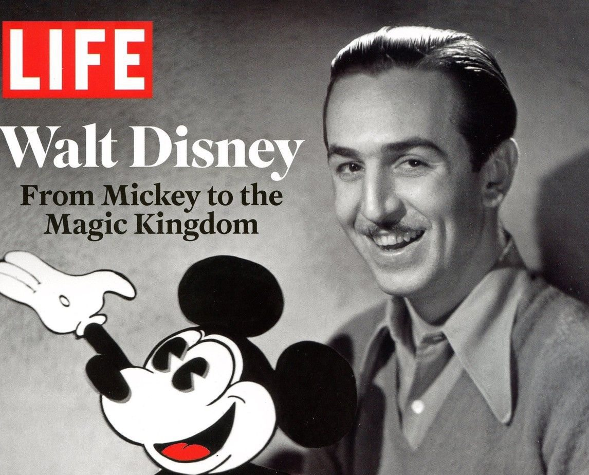 """A Look at LIFE's """"Walt Disney: From Mickey to the Magic Kingdom"""""""