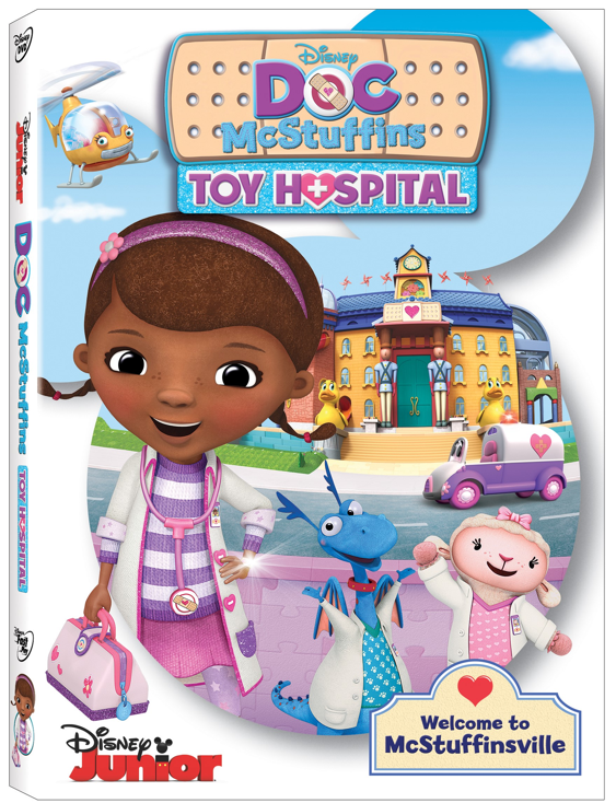 Doc McStuffins: Toy Hospital Comes to DVD