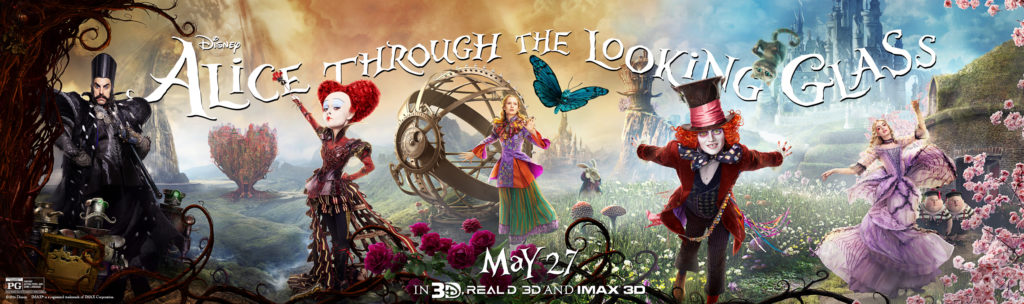 AliceThroughTheLookingGlass56f985f923ff1 Horizontal Poster