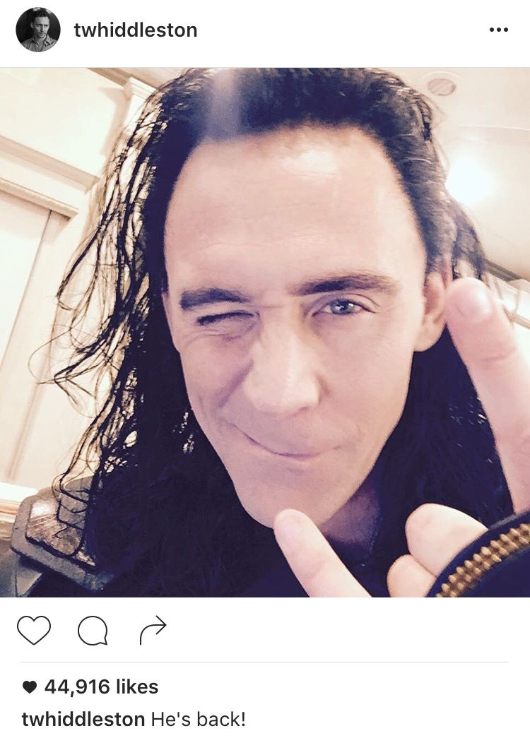 Tom Hiddleston Teases His Return as Loki