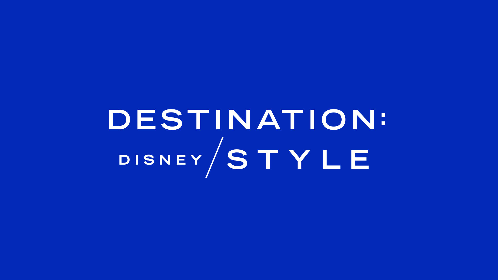 """Disney Launches """"Destination: Disney Style"""" YouTube Series with Tokyo Video"""