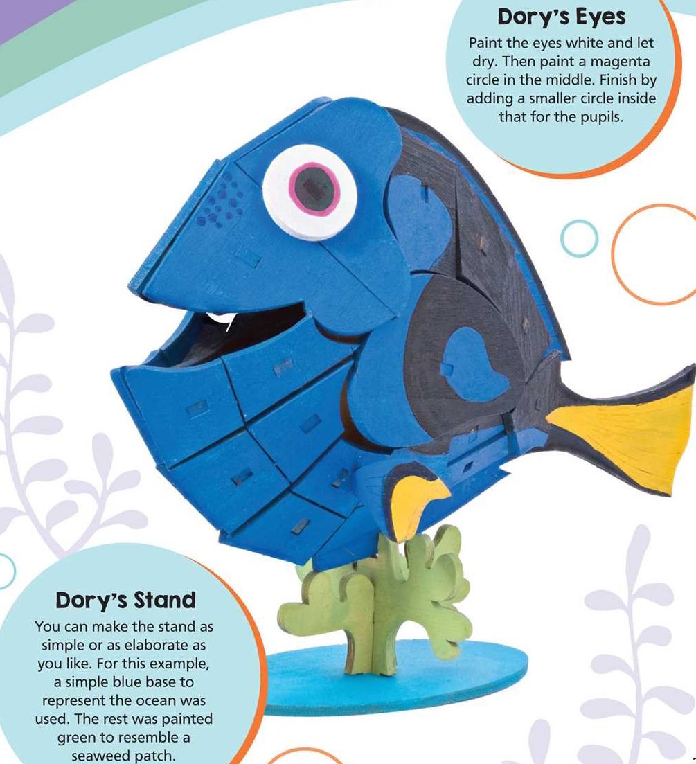 Review: IncrediBuilds Finding Dory Deluxe Book and Model Set