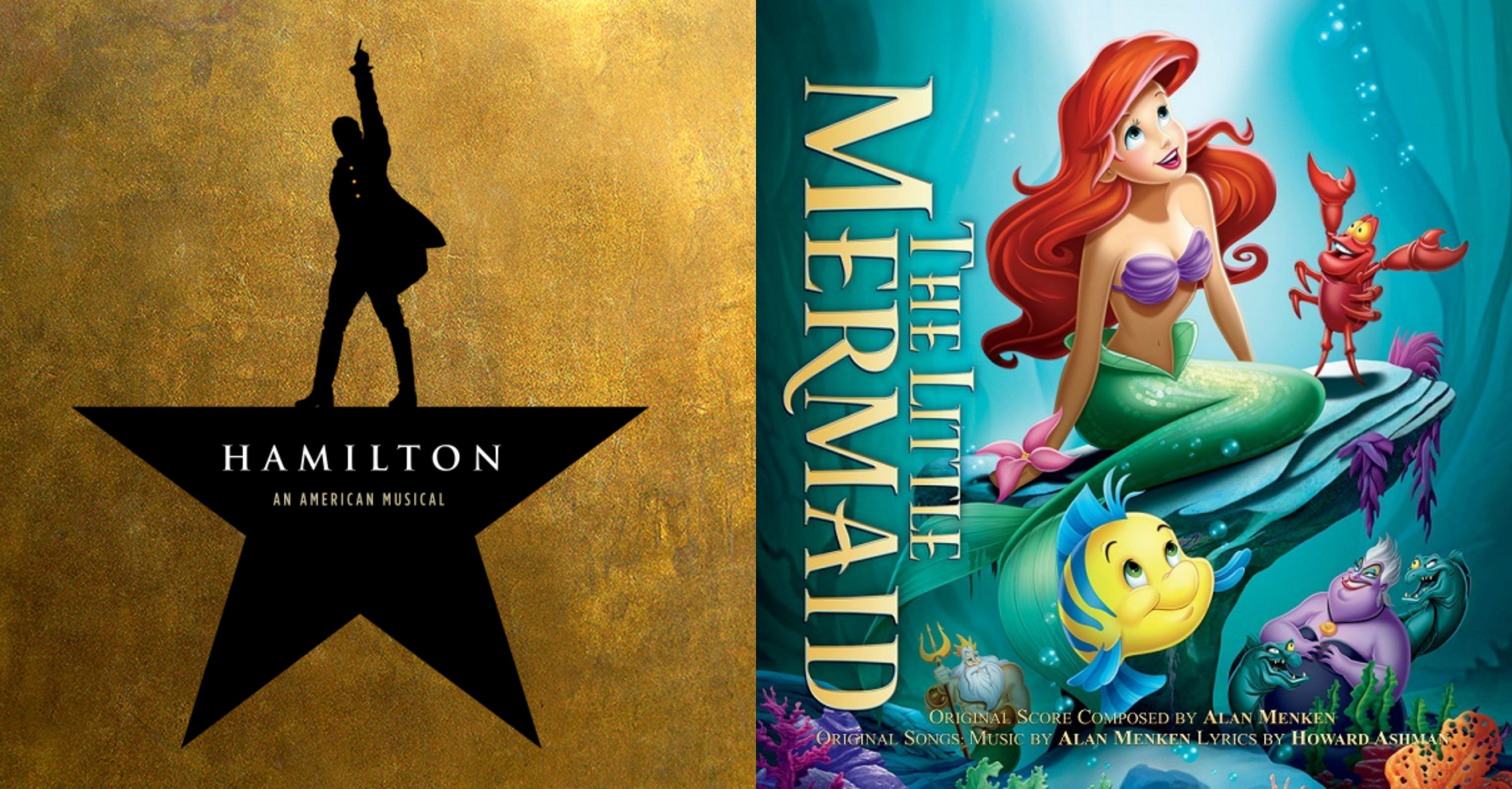 """Take a Break and Enjoy These """"Little Mermaid"""" / """"Hamilton"""" Song Connections"""