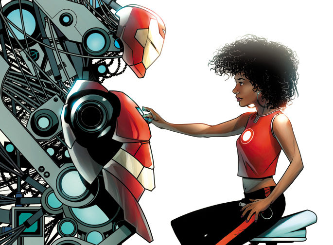 "Iron Man's Comic Book Replacement to Go By ""Ironheart"""