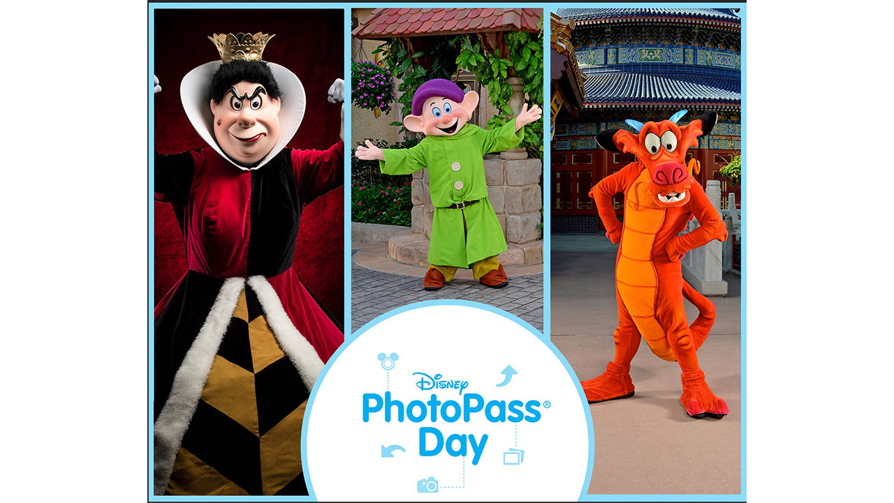 Walt Disney World Celebrates Disney PhotoPass Day