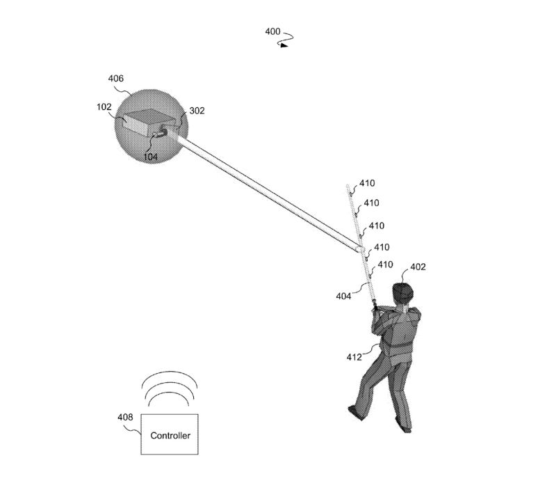 Disney Patents Realistic Lightsaber Experience