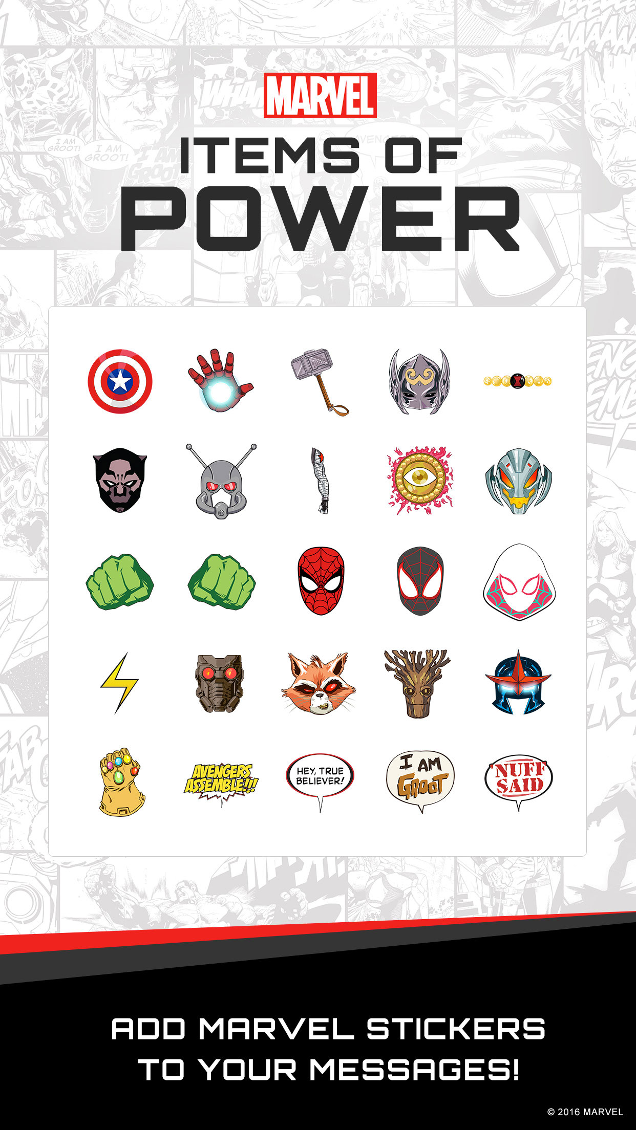 Disney, Marvel, and Star Wars Stickers Come to iOS 10