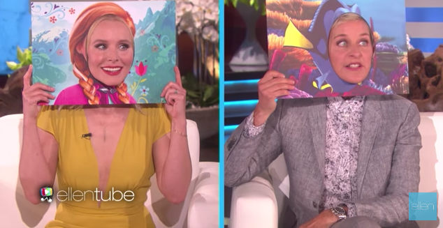 """Anna and Dory Chat on """"The Ellen Show"""""""