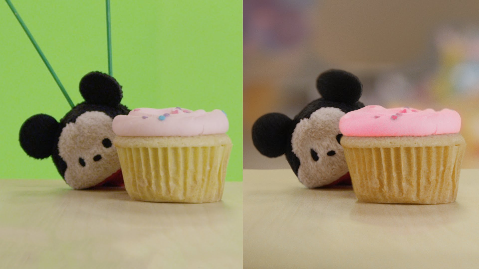 Tsum Tsums Have a Cupcake Battle