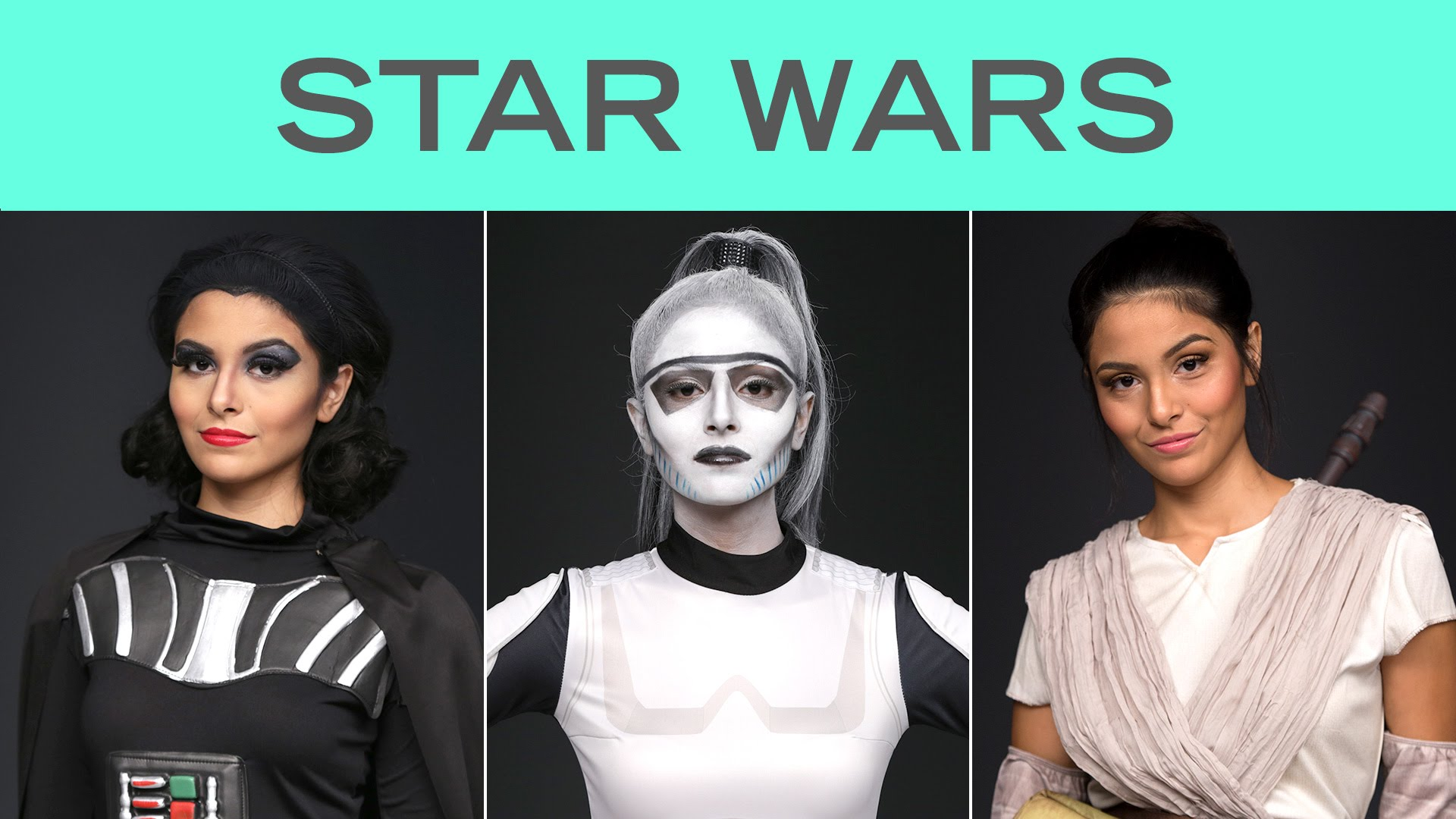 Four Star Wars Looks in 60 Seconds