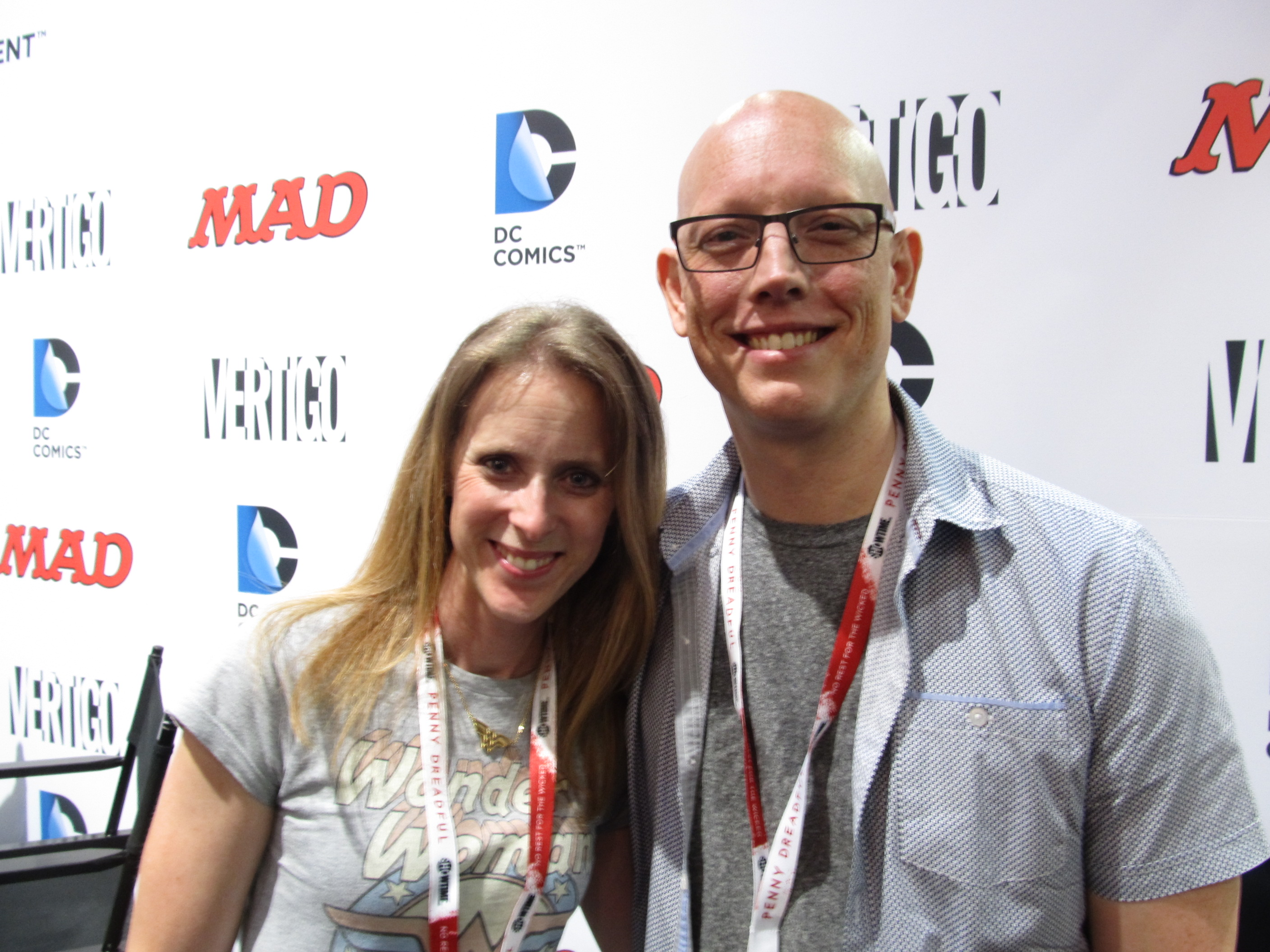 Talking to Comic Superstars David and Meredith Finch at Fan Expo Canada