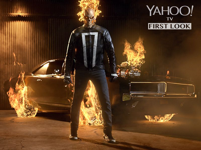 "Yahoo Offers First Image of Ghost Rider on ""Marvel's Agents of SHIELD"""