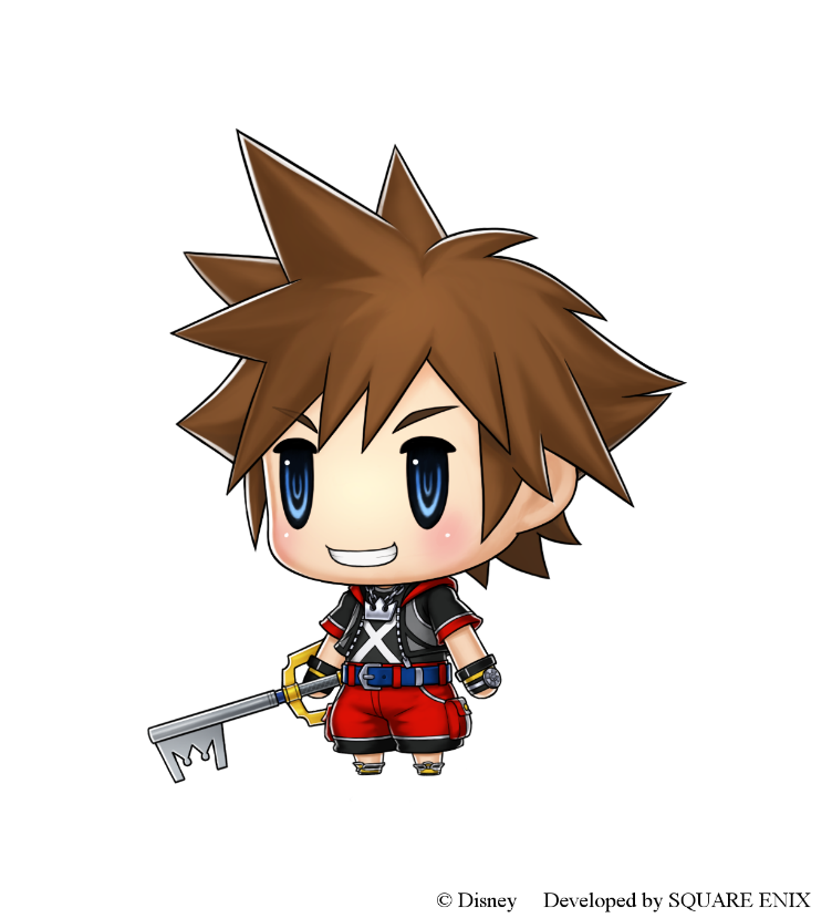 Sora from Kingdom Hearts is Coming to World of Final Fantasty