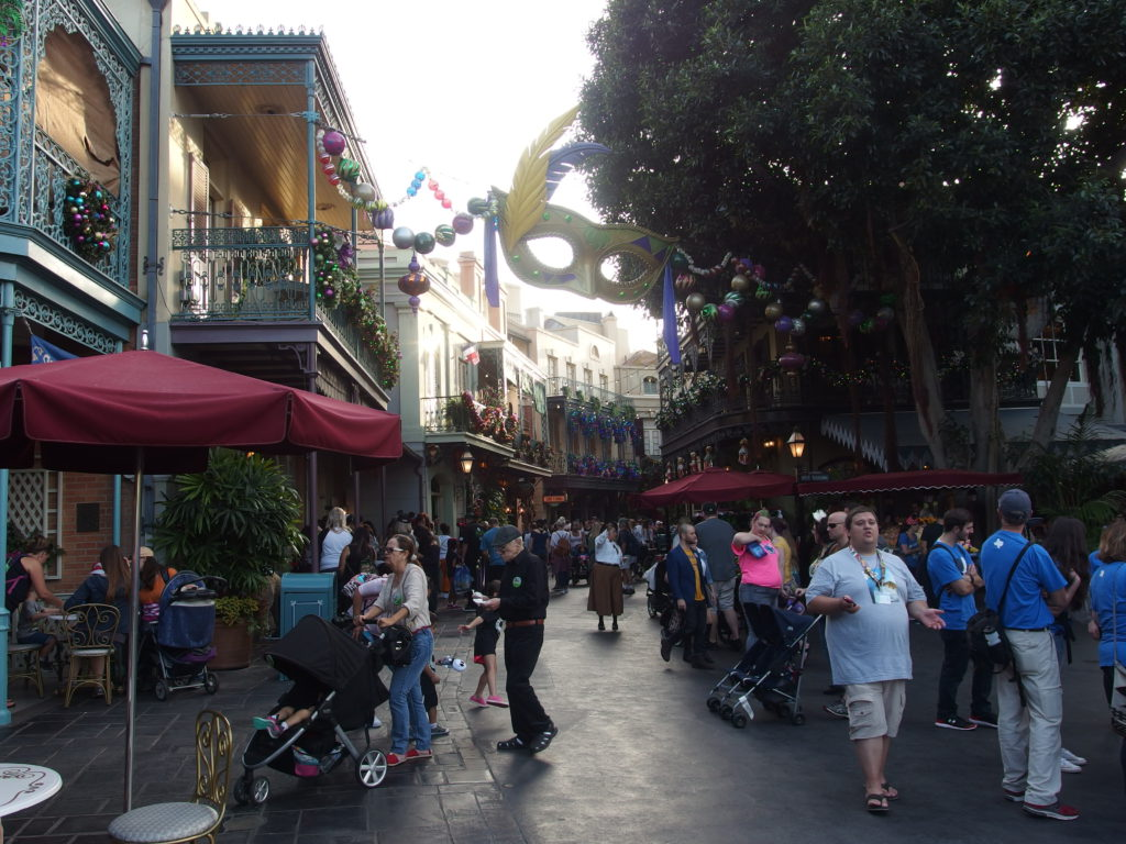 New Orleans Square beckons by day…