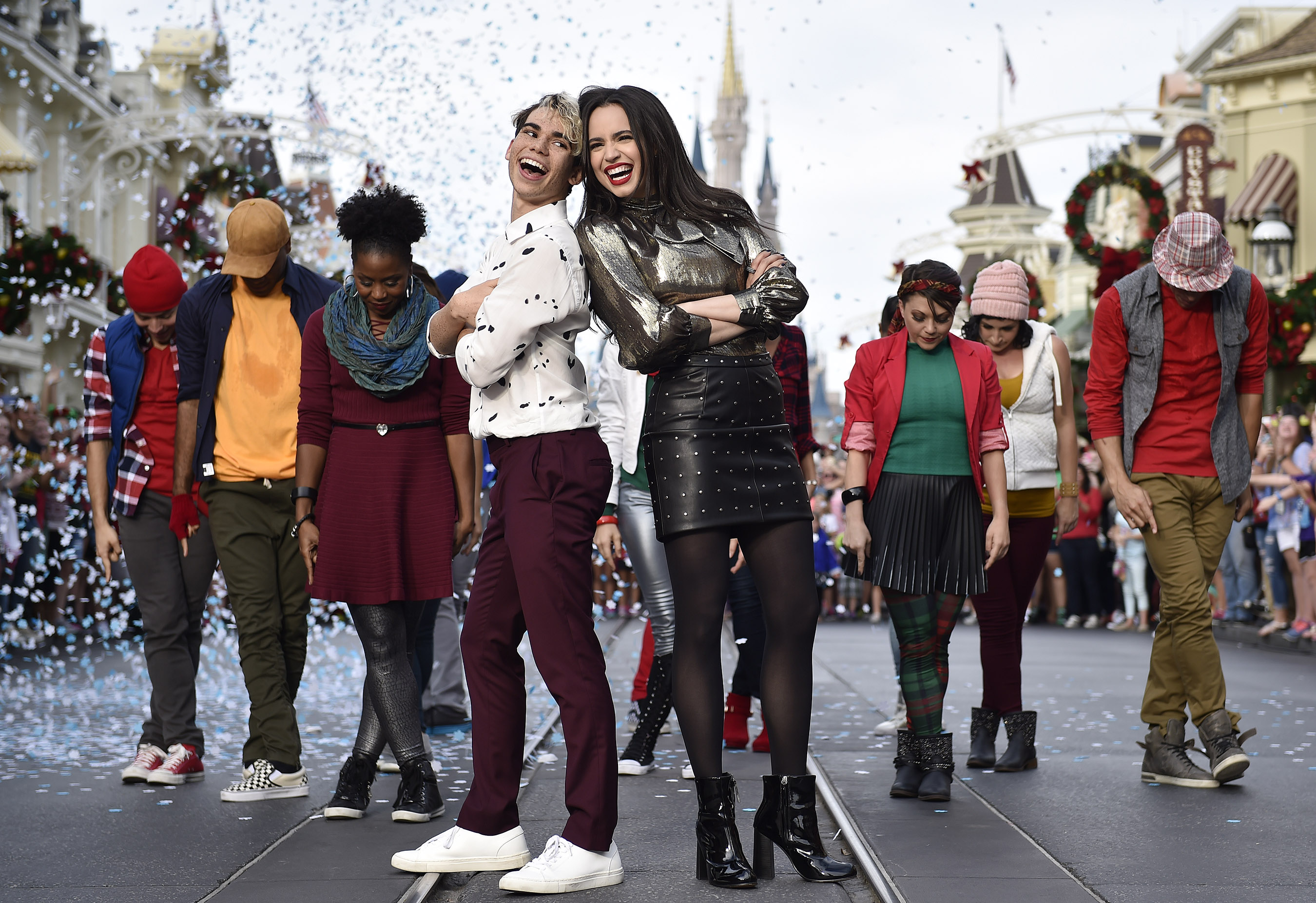 "Images From ""Disney Parks Presents: A Descendants Magical Holiday Celebration"" Released"
