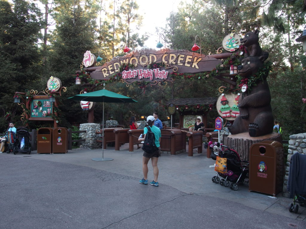 The Redwood Creek Challenge Trail is Santa Central